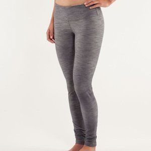 LULULEMON | Wunder Under Pant Grey Denim | Sz. 8
